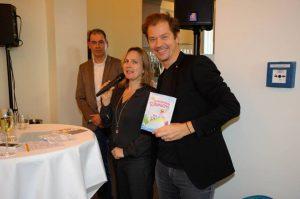 Sylvie Liebsch mit Ben Fritz und Maruan Arrak