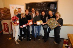 Gruppenfoto mit Janine Kunze, Simon Gosejohan, Stephan Knittler, Ben Fritz, Sylvie Liebsch
